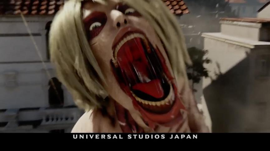 進撃の巨人 The real2  Universal Cool Japan 2016.